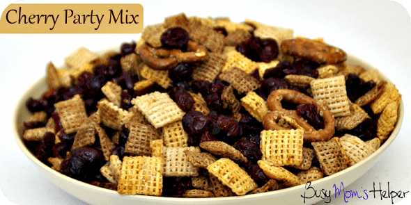 Cherry Party Mix / Busy Mom's Helper