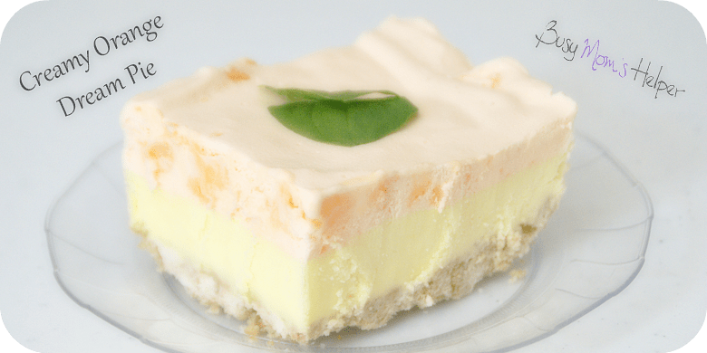 Creamy Orange Dream Pie