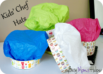 Chef Hats For Kids Party