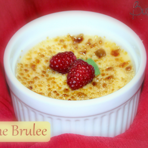 Cherry Creme Brulee