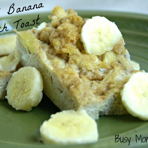 Caramel Banana French Toast