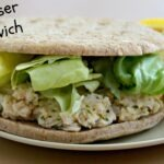 Chicken Caeser Salad Sandwich