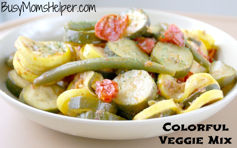 Colorful Veggie Mix / Busy Mom's Helper