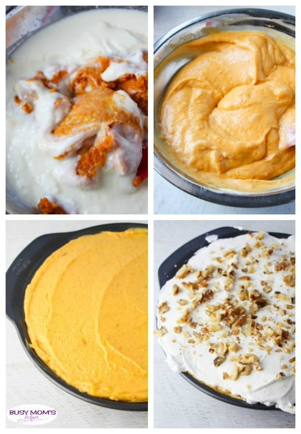 Pumpkin Pudding Pie / AKA: Pumpkin Better Than Disneyland Pie / The Perfect Thanksgiving or Holiday Dessert!