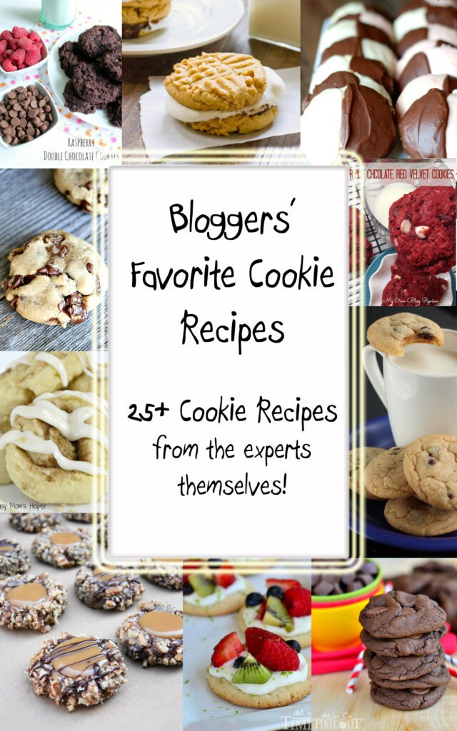 Bloggers Favorite Cookie Round Up / Busy Mom's Helper