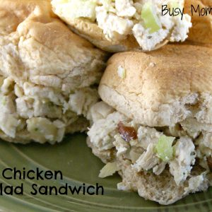 Nutty Chicken Salad Sandwich