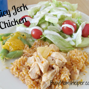 Spicy Jerk Chicken / Busy Mom's Helper