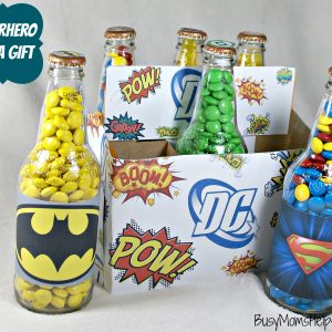Superhero Soda Gift