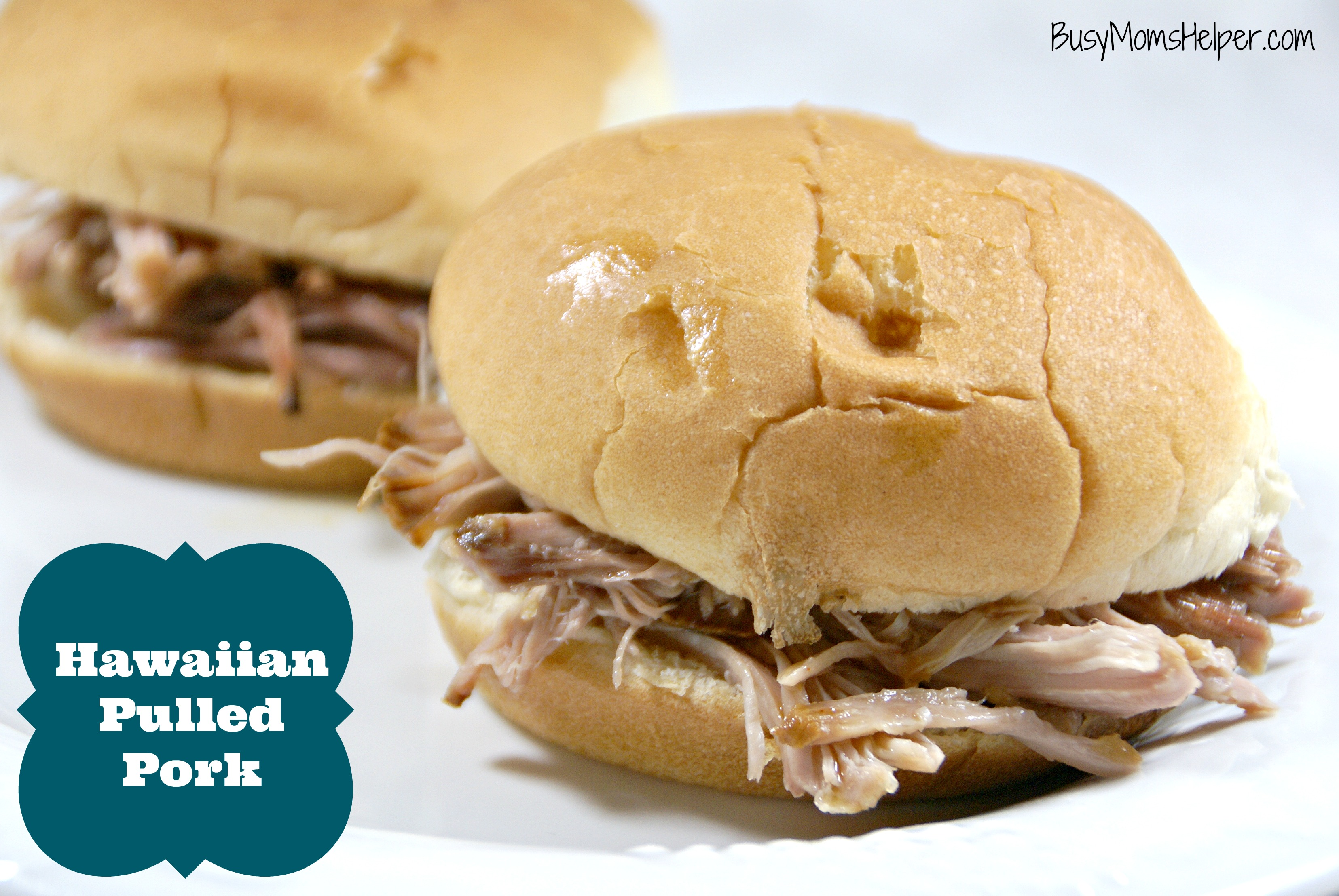 Hawaiian Pulled Pork / Busy Mom's Helper