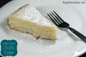 Lemon OOPS Cake / by Busy Mom's Helper #Lemon #Cake #Dessert