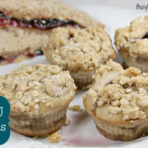 PB & J Muffins / Busy Mom's Helper
