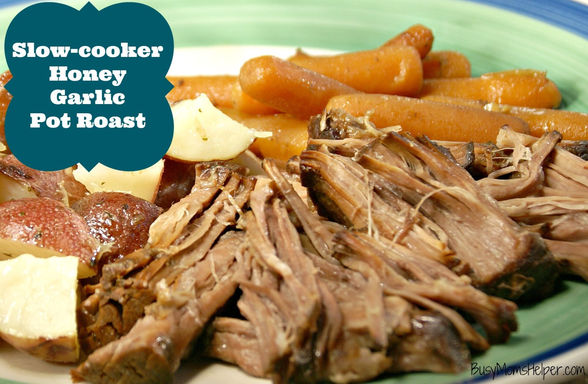 Garlicky Pot Roast Recipe — Dishmaps