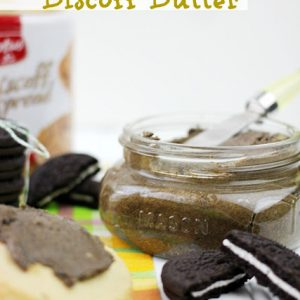 Oreo Cookie Biscoff Butter from The Plaid and Paisley Kitchen
