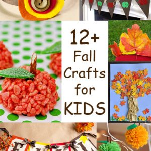 12+ Fall Crafts for KIDS