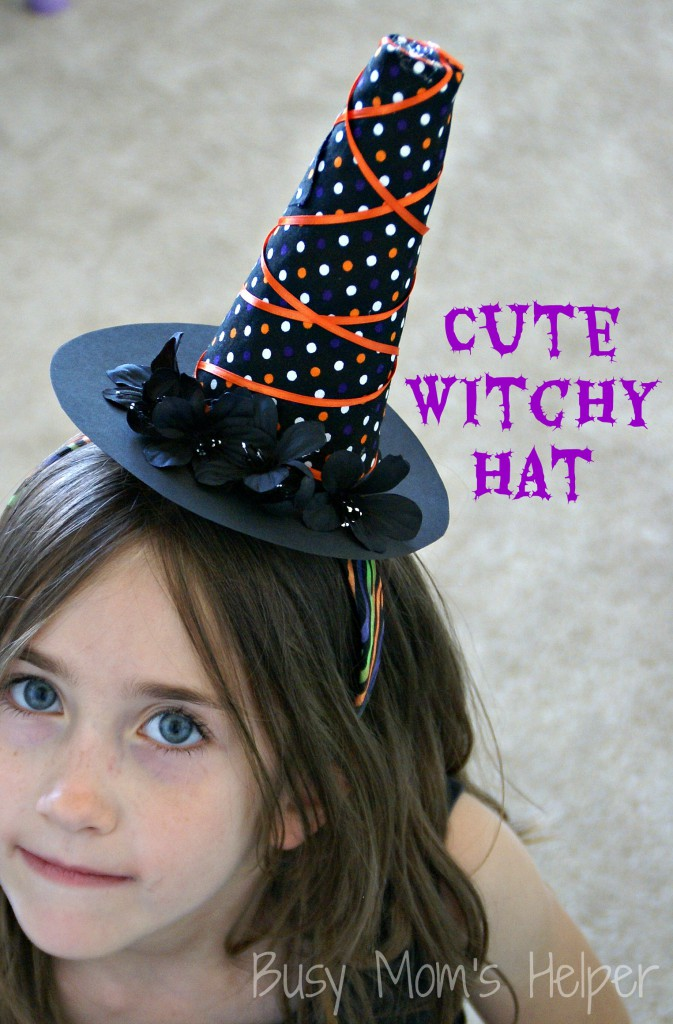 Cute Witchy Hat DIY / Busy Mom's Helper