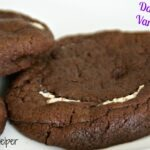 Dark Chocolate Vanilla Cookies