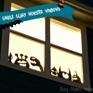 Simple Scary Monster Windows