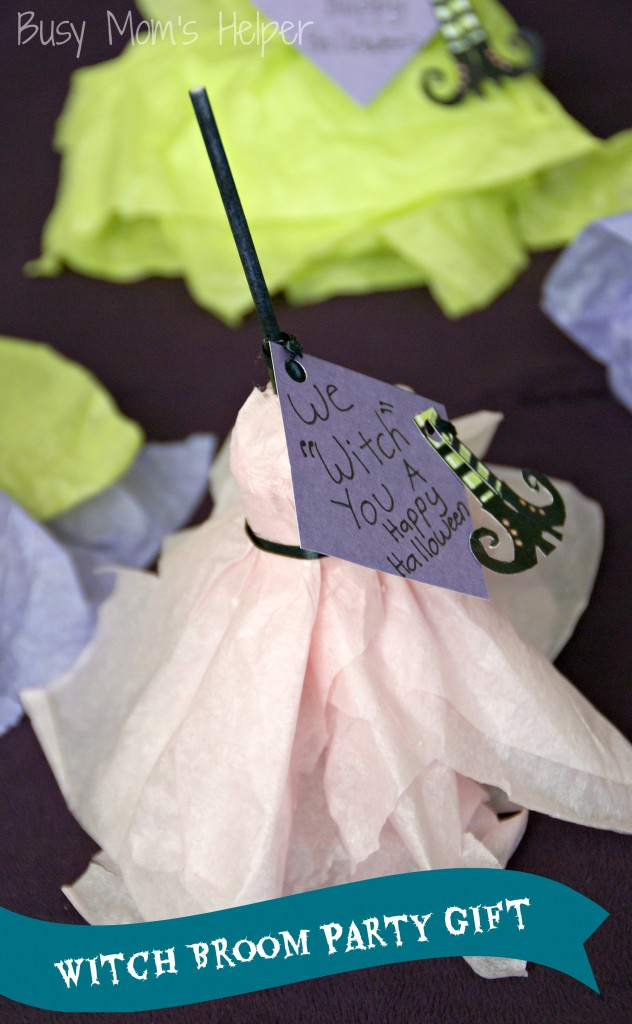 Witch Broom Party Gifts / Busy Mom's Helper