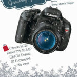 Fabulous Birthday Giveaway: Canon Rebel T3i DSLR with Lens