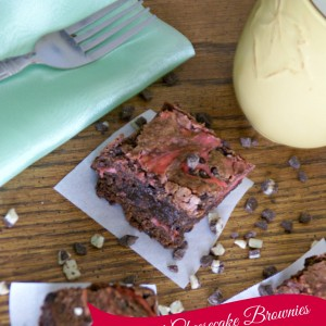 Mint Cheesecake Brownies / Busy Mom's Helper