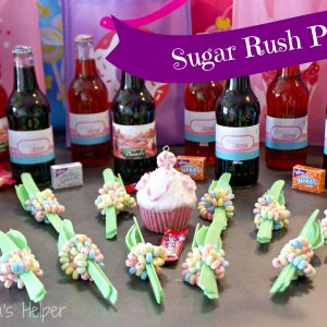Sugar Rush Party Series: Decorations