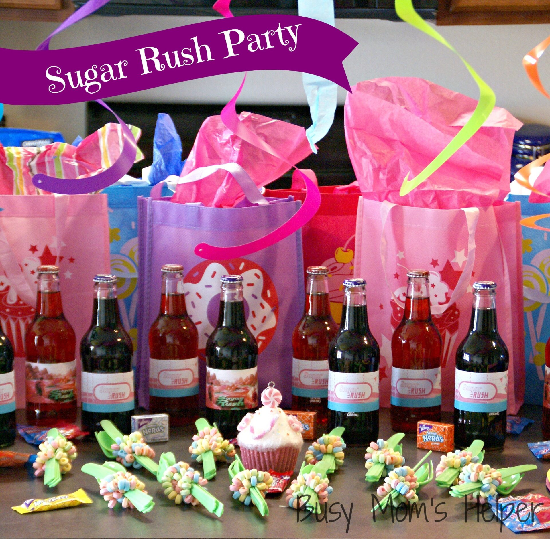Sugar Rush Party Series: Activities, Games & Crafts / Busy Mom's Helper