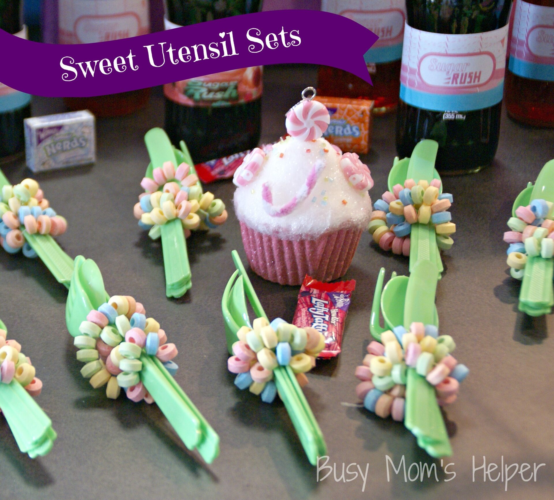 Sugar Rush Party Series: Food, Drink & Goodies / Busy Mom's Helper