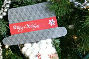 Cocoa Gift Hat with Free Printable Pattern / Busy Mom's Helper