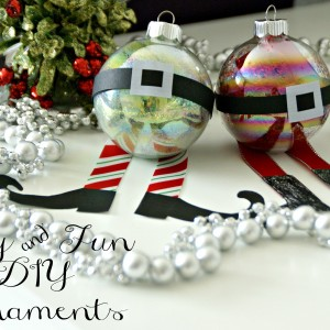 Easy and Fun DIY Ornaments