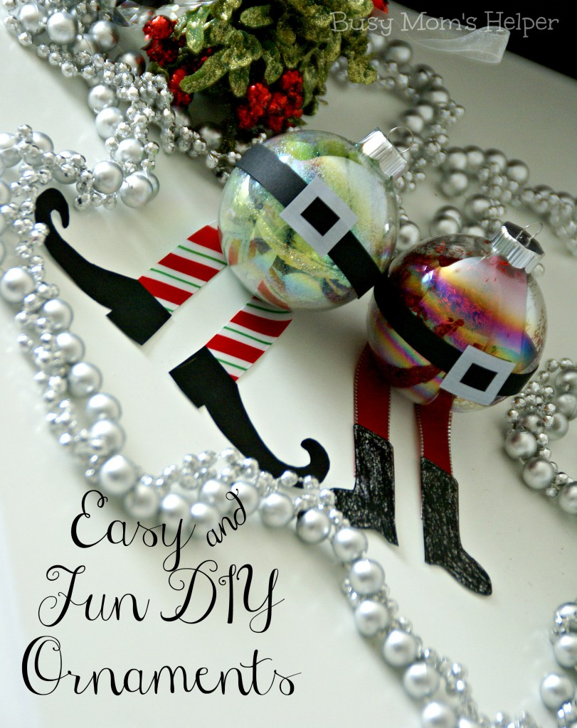 Easy & Fun DIY Ornaments / Busy Mom's Helper