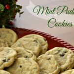 Mint Pudding Cookies