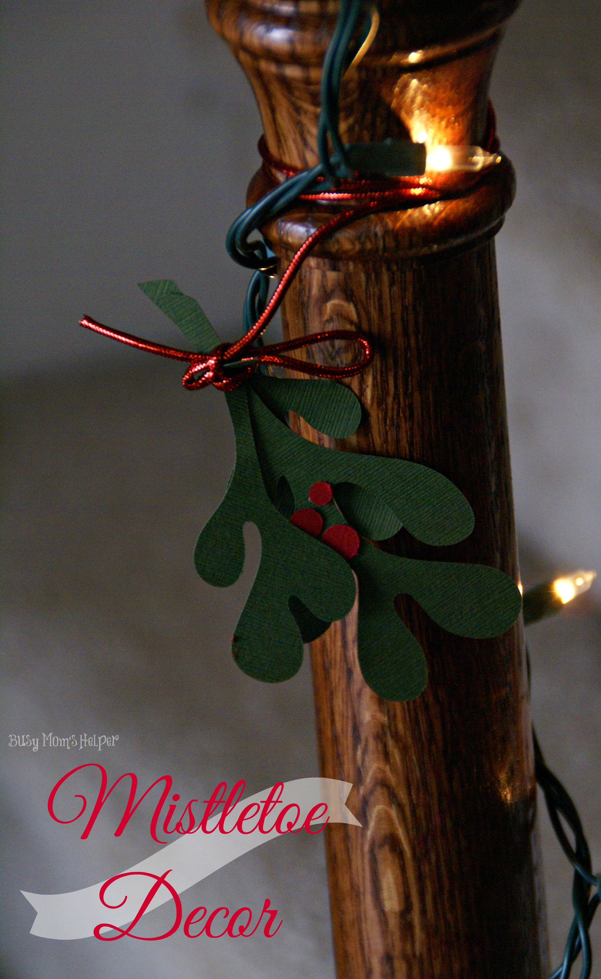 Diy mistletoe decor busy moms helper diy mistletoe decor with free printable pattern busy moms helper jeuxipadfo Images