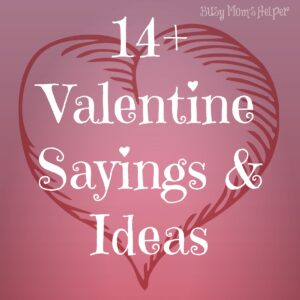 14 Gifts of Valentines with Free Printables, plus MORE