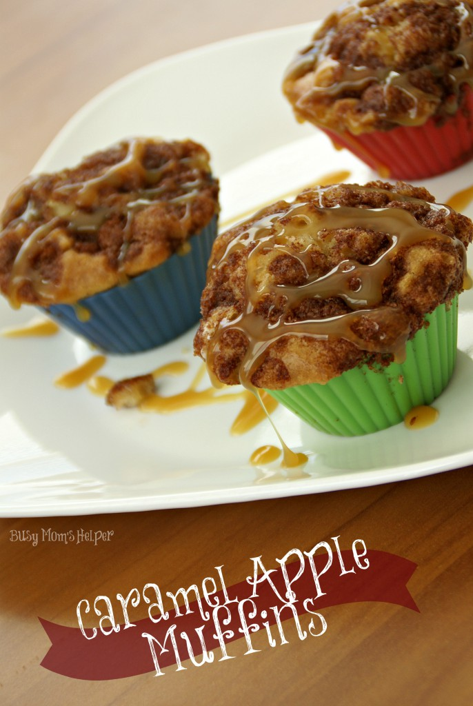 Caramel Apple Muffins / Busy Mom's Helper