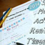 My Goals for 2014 with Printables