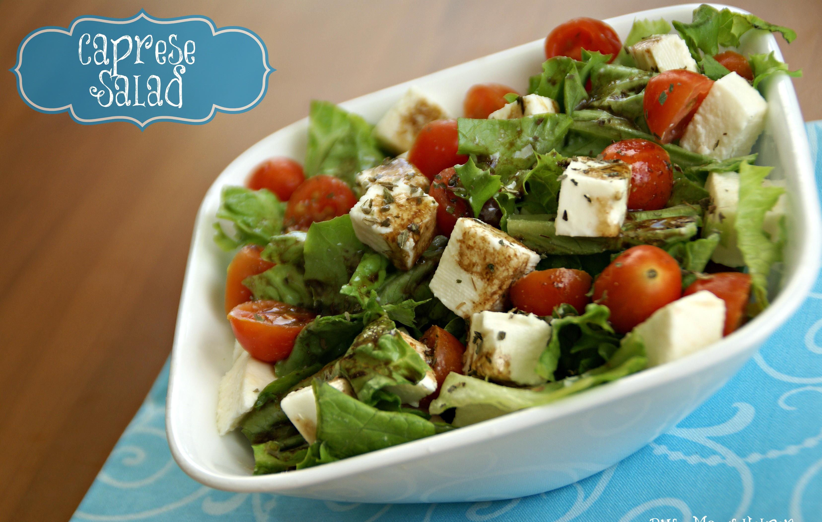 Caprese Salad - Busy Moms Helper