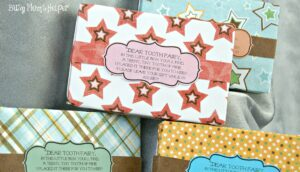 Tooth Fairy Box with Free Printable Poem / Busy Mom's Helper