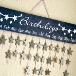 Birthday Calendar DIY
