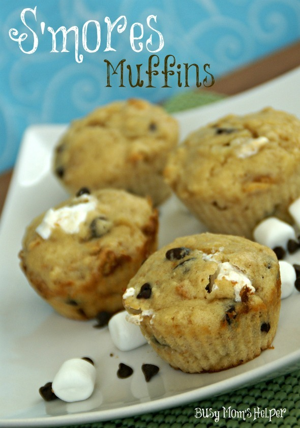 S'mores Muffins / www.BusyMomsHelper.com