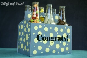 Graduation Gift Bottle Set with Free Printables / by www.BusyMomsHelper.com