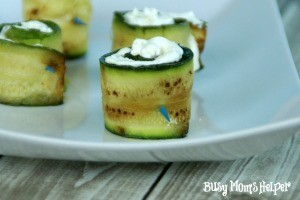 Cheese Filled Zucchini Bites