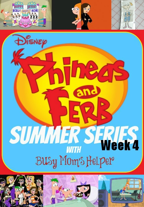 Phineas & Ferb Summer Series: Week 4 / by www.BusyMomsHelper.com #P&FSummer #KidActivities #Printables