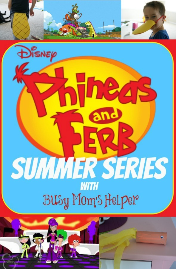 Phineas & Ferb Summer Series: Week 5 / by www.BusyMomsHelper.com #p&fsummer #p&fseries #kidfun