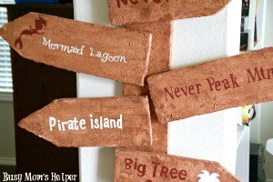 DIY Pirate Sign