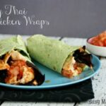 Spicy Thai Chicken Wraps