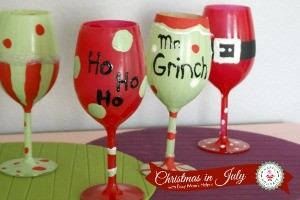 Design Your Own Christmas Glasses / by Busy Mom's Helper #ChristmasinJuly #Craft #Holidays #KidsCraft