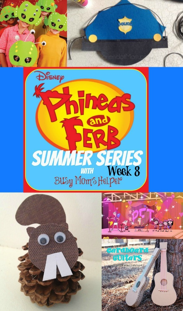 Phineas and Ferb Summer Series: Week 8 / by Busy Mom's Helper #p&fsummer #kidscrafts #summerfun