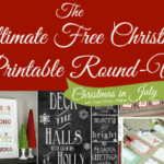 The Ultimate Free Christmas Printable Round Up