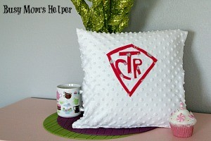 DIY Baptism Pillow Gift / by Busy Mom's Helper #LDS #Baptism #Gift #Craft #Sewing