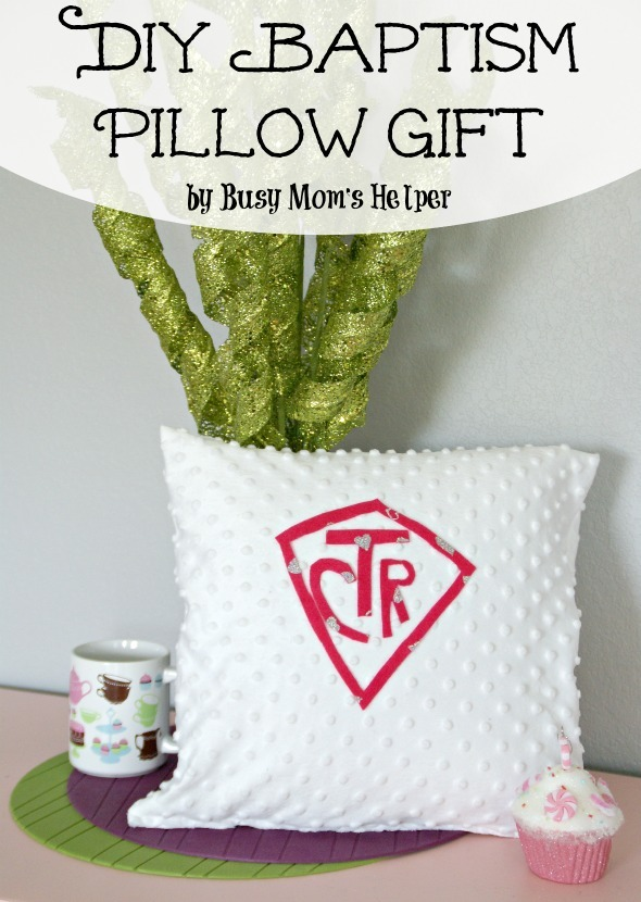 DIY Baptism Pillow Gift / by Busy Mom's Helper
